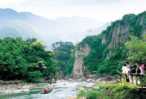 浙西大峡谷点评_临安景点门票_发表于2011年7月24日