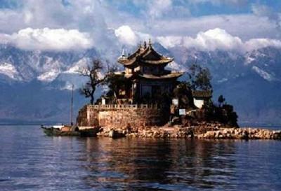 宁波东钱湖小普陀