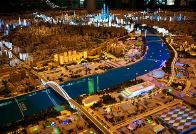 城市景点平面设计