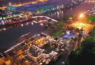 杭州运河游船