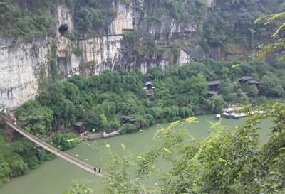 三游洞风景区的主要景点有三游洞,至喜亭,楚塞楼,古军垒遗址,陆游泉等