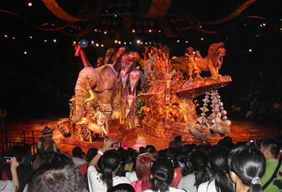 上海迪士尼狮子王音乐剧